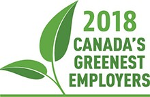 York University named one of Canada's Greenest Employers for 2018, for the sixth consecutive year